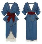 Пример сшитого платья бохо шик