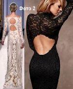 как сшить платье с вырезом на спине 2