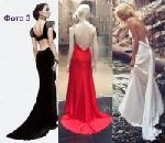как сшить платье с вырезом на спине 3