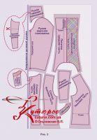 готовая выкройка жакета Шанель в натуральную величину 40-62 рис2