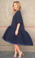 Выкройка платья «трапеция с оборкой и перепадом» 40-64 фото2