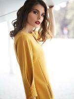 Выкройка платья-кокон с рельефами 40-64 фото1