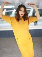 Выкройка платья-кокон с рельефами 40-64 фото2