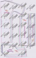 Выкройка платья-кокон с рельефами 40-64 вид1