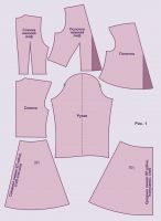выкройки платья нарядного 42 - 52