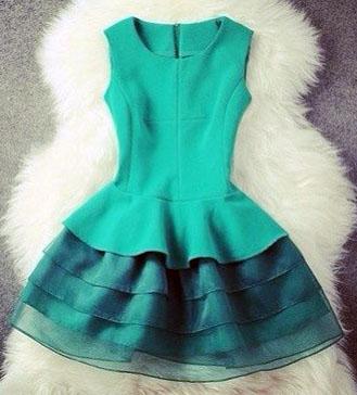 Сшить женское платье с юбкой солнце