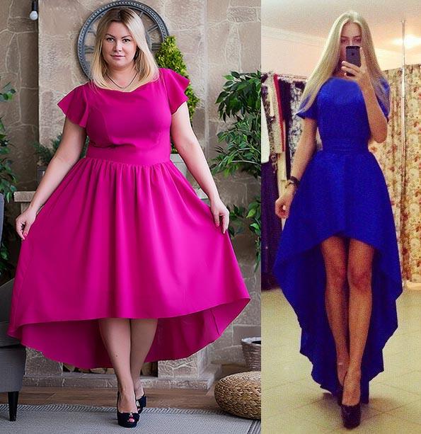 Поиск на Постиле: выкройка платья большого размера