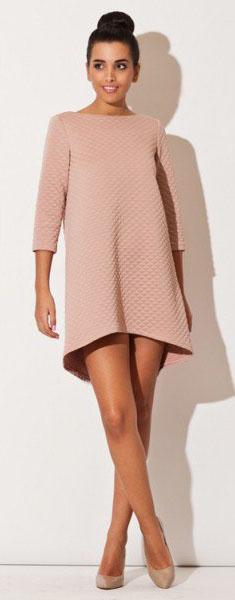 Платье короткий перед длинный зад выкрайки