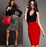 Выкройка юбки с цельнокроеным поясом 42-62 - Модель прямой юбки («карандаша») подходит для большинства фигур.  Для пошива можно использовать любую не слишком тонкую ткань.  Уровень сложности начальный. Фасон можно рекомендовать для первого изделия...
