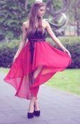 Юбка однослойная с перепадом длины 42-62 - Уровень сложности шитья юбки с перепадом длины: начальный. Выкройка для начинающих и может быть рекомендована в качестве первого изделия...