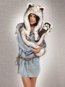 Выкройка волкошапки - Уровень сложности пошива: средний. Модель рекомендована для пошива портным, имеющим навыки работы с искусственным мехом...