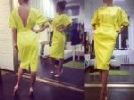 Выкройка «платья отрезного с открытой спиной и сборкой»  42-52