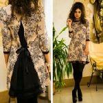 Выкройка платья «трапеция с сюрпризом» 40-62