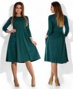 Выкройка «платья-татьянка из стретча»  40-54
