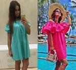 Выкройка «платья-трапеции безразмерного»