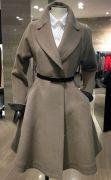 Выкройка «пальто клёш с отрезным бочком» 40-52