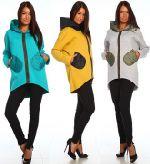 Выкройка «пальто-худи цельнокроеного» 40-52