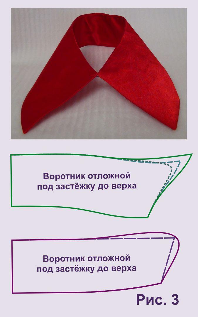Как научится шить воротники и манжеты для платьев