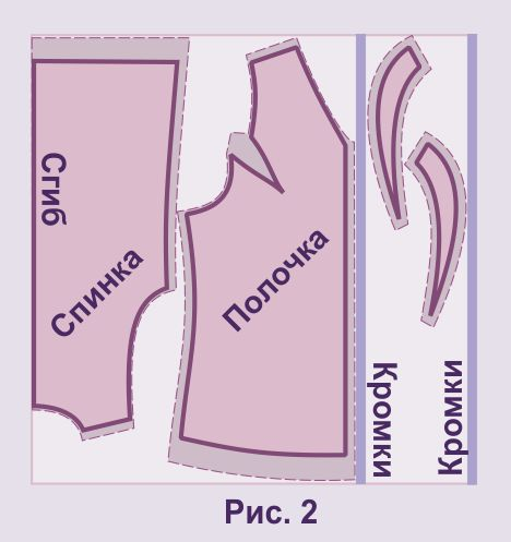 Жилета 44 выкройки женского размера