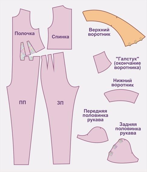 Комбинезон для беременных своими руками выкройка