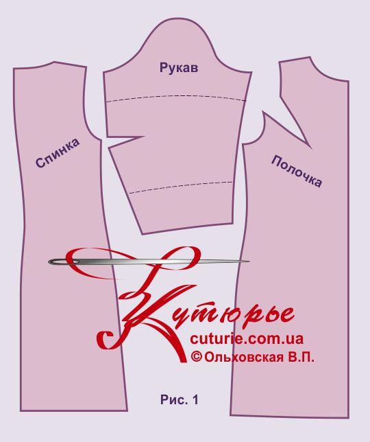 Выкройка платья трапеция: готовая схема и её построение