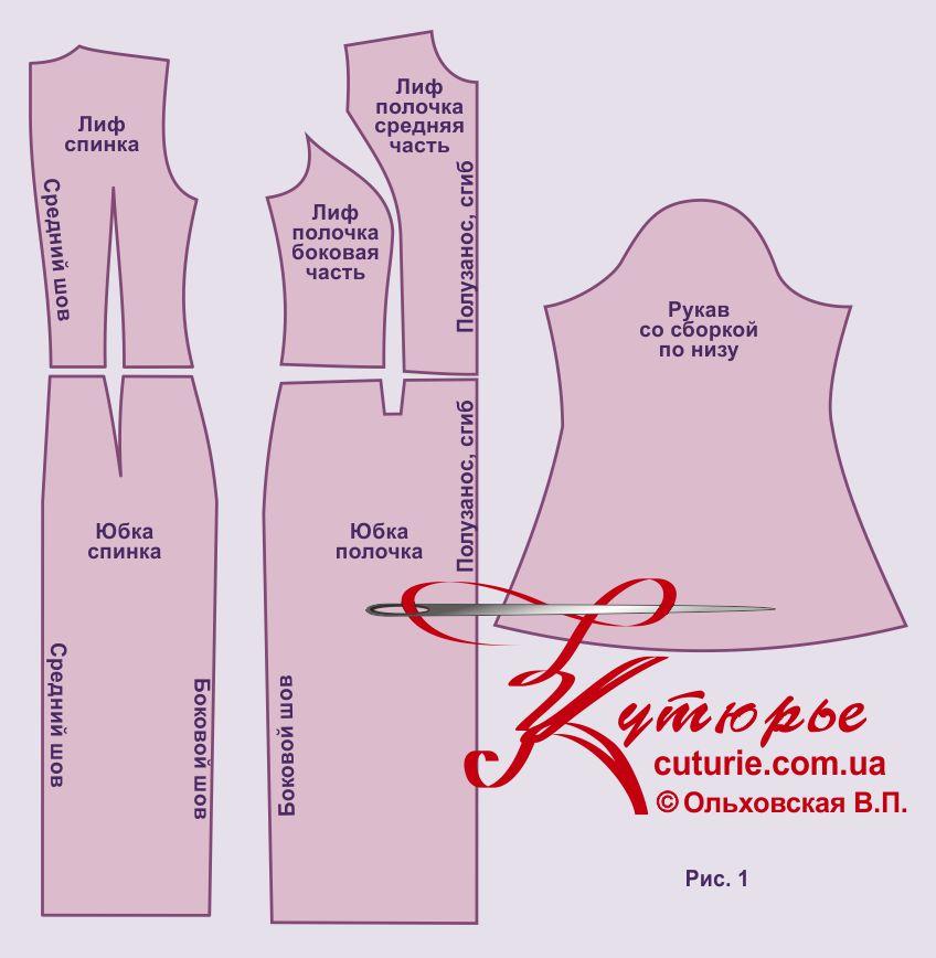 Как сшить платье без рукавов 8