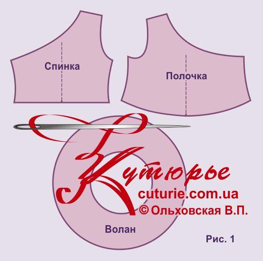 Платье на одно плечо выкройка своими руками 72