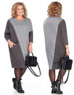 Платье оверсайз - выкройка больших размеров
