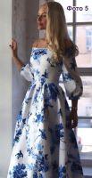 Отрезное платье с юбкой татьянкой фото