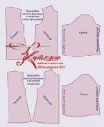 готовая бесплатная выкройка платья-трапеции комплектация