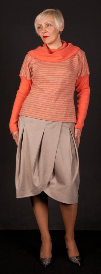 Трикотажная блузка своими руками, выкройка и мастер