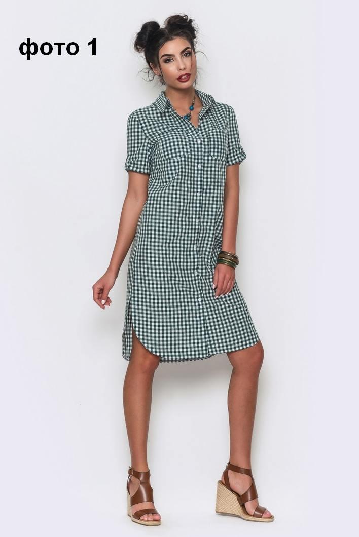 Рубашка платье женская сшить