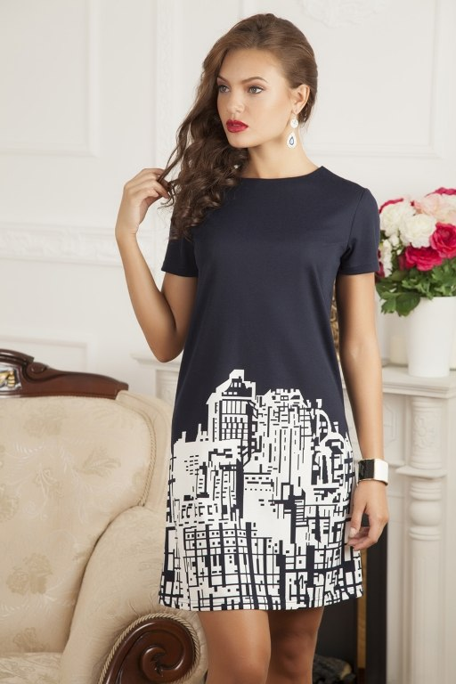 Фасон платья с рукавом выкройка