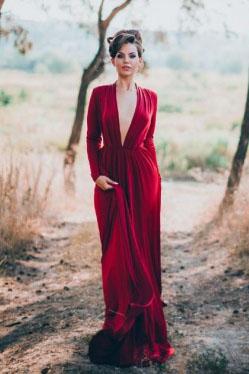 Платья выкройки с глубоким декольте