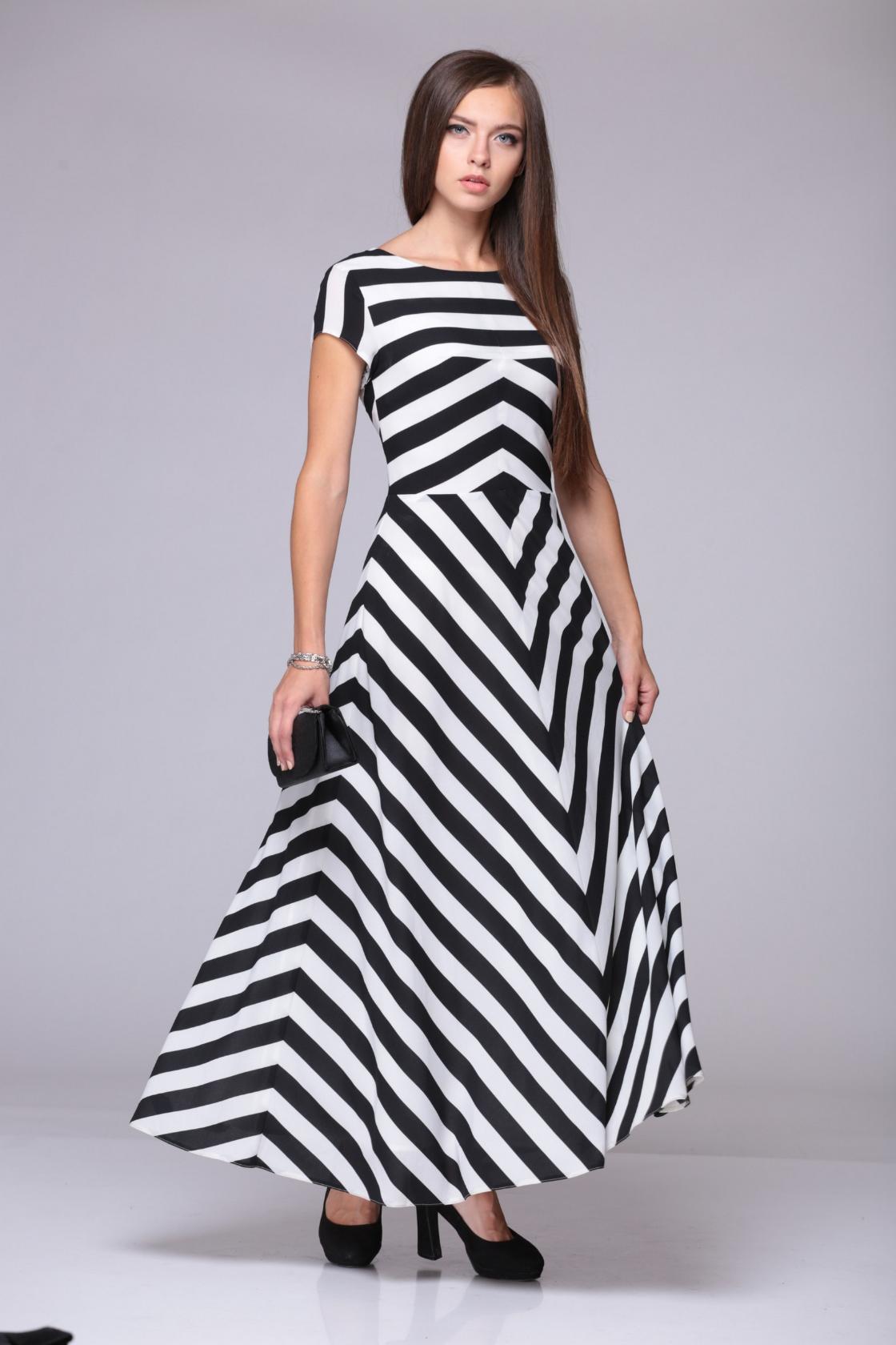 Выкройки летнего платья с рукавами