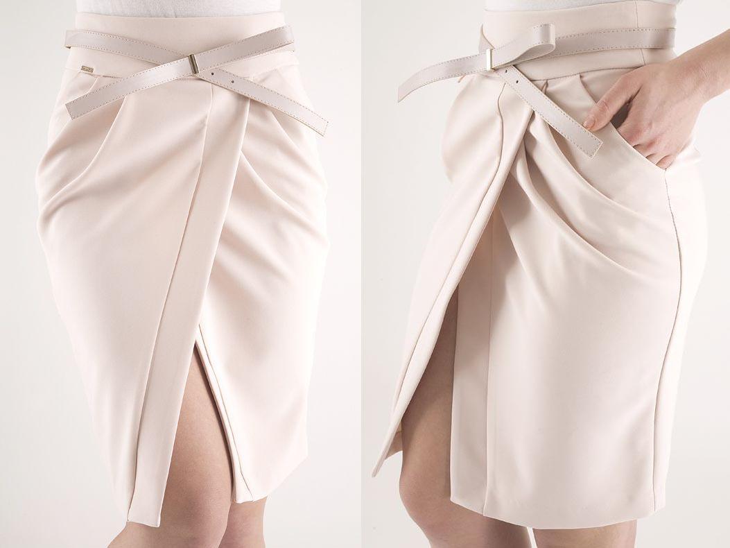 Как сшить юбку тюльпан без выкроек фото 526
