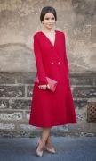 Выкройка «пальто отрезного без воротника» - Уровень сложности пошива: профессиональный. Эта модель пальто будет хорошо смотреться на фигурах разной полноты и разных типов. Размеры:42-52 и 52-62