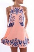 Выкройка платья «трапеции-майки с вытачкой»