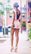 Выкройка женского комбинезона летнего с шортами и гипюром