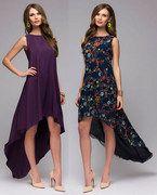 Выкройка платья «трапеция мини-макси» 42-62