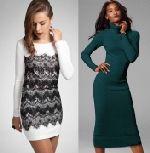 Выкройка платья-водолазки - Размеры платья в выкройке от 42 до 52. Модель подходит для стройных фигур. Силуэт прилегающий. Для пошива платья-водолазки подходит только стретч. Особые навыки шитья не требуются, доступно начинающим.