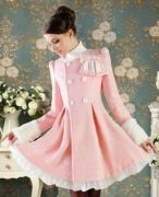 Выкройка «платья-пальто с подрезом»
