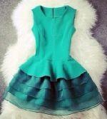 Выкройка платья «отрезного со средним швом на полочке»