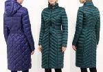 Выкройка «пальто пуховик-футляр с капюшоном» - Уровень сложности шитья: средний, эта выкройка начинающим не рекомендуется.  Данный фасон пальто-пуховика подходит большинству типов фигур различной полноты. Размеры: 40-52 и 52-64