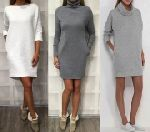 Выкройка платья «кокон» карманы в боковых швах 40-52 - Уровень сложности шитья простой - модель для шитья начинающим. Этот фасон платья подходит только стройным девушкам с неширокими бёдрами.