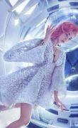 Выкройка платья отрезного «космос» 40-52