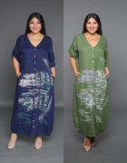 Выкройка «платья-рубашки бохо» 40-64