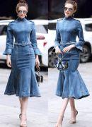 Выкройка платья русалочка с карманами - Уровень сложности шитья высокий. Этот фасон платья годится только для стройных фигур с относительно широкими плечами среднего и высокого роста. Размеры: 40-54.
