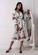 Выкройка платья этнического «Роза»