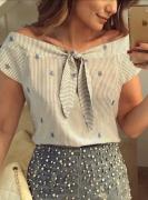 Выкройка блузы «итальянка» 40-54
